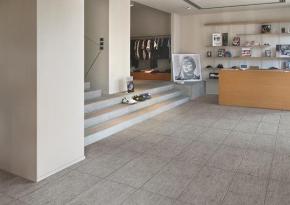 Effetto pietra serie luserna pavimenti gres ceramiche for Arredo bagno piemonte